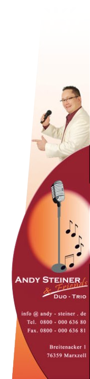 Entertainer - Musiker aus Leidenschaft!