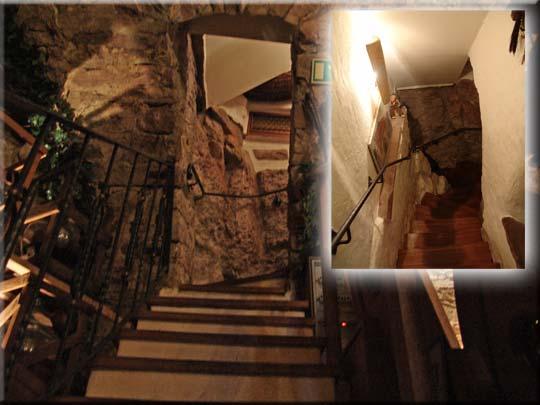 Auch ein Highlight - der Treppenaufgang