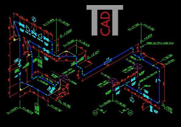 PiCAD - Piping Isometric CAD - Anlagenbau - Rohrleitungsisometrie-Software